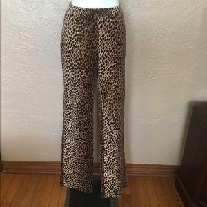 Dolce & Gabbana Leopard Print Pants 40 Italy